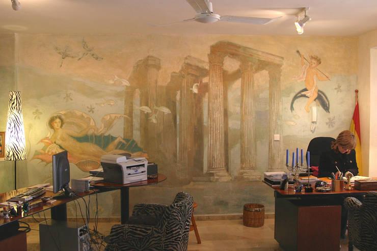 Mural submarino:  de estilo  de mural x 3