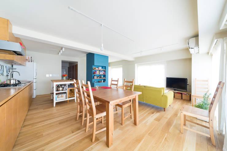 目黒・ROOM・Y(MEGURO・ROOM・Y): 吉田裕一建築設計事務所が手掛けたスカンジナビアです。,北欧