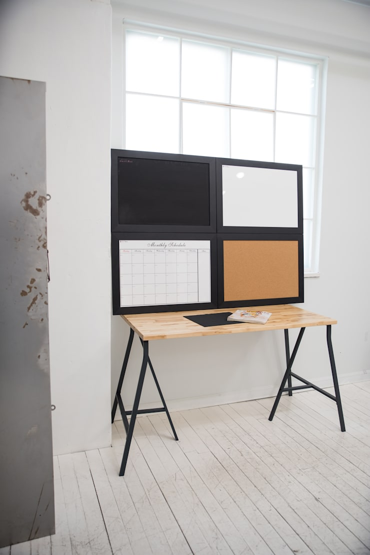 로맨틱 칠판 시리즈: (주)강경숙칠판의  서재 & 사무실,모던