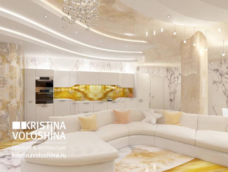 Современная квартира в Королеве: Кухни в . Автор – kristinavoloshina