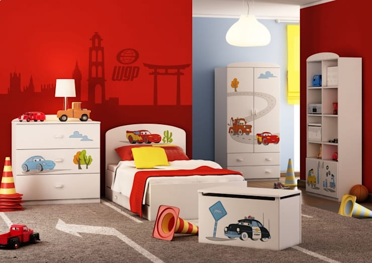 Dormitorios infantiles de estilo  de Möbelgeschäft MEBLIK