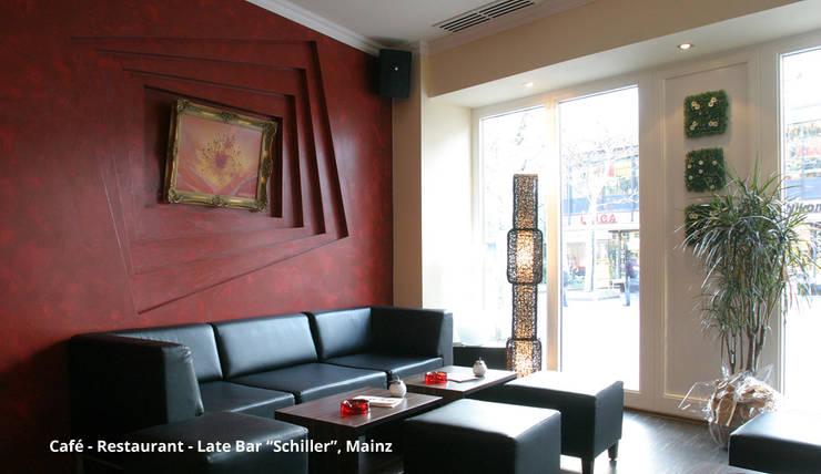 Gedung perkantoran oleh GID│GOLDMANN-INTERIOR-DESIGN - Innenarchitekt in Sehnde, Modern