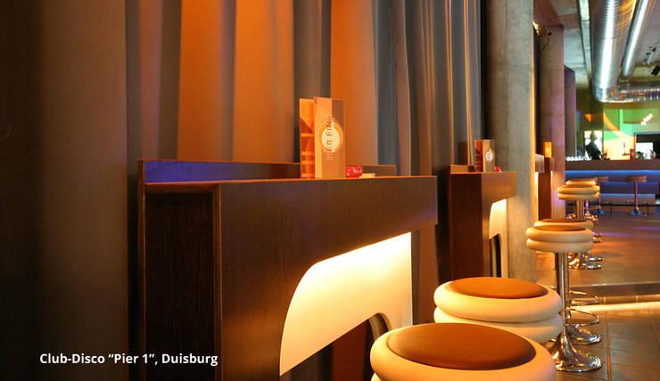 spannendes design einer diskothek in duisburg. Black Bedroom Furniture Sets. Home Design Ideas