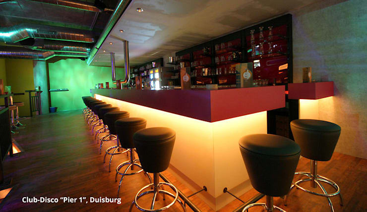 """Disco """"Club Pier 1"""" - Duisburg:   von GID│GOLDMANN - INTERIOR - DESIGN"""