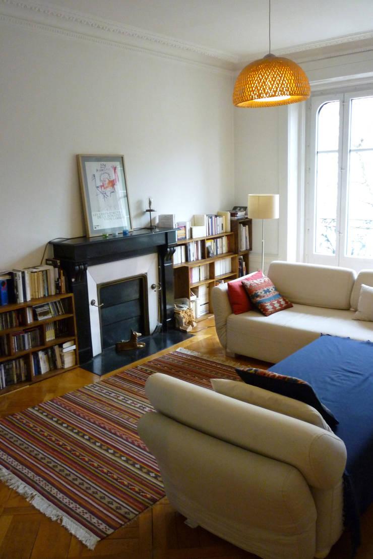 Le salon avant:  de style  par Emmanuelle Diebold