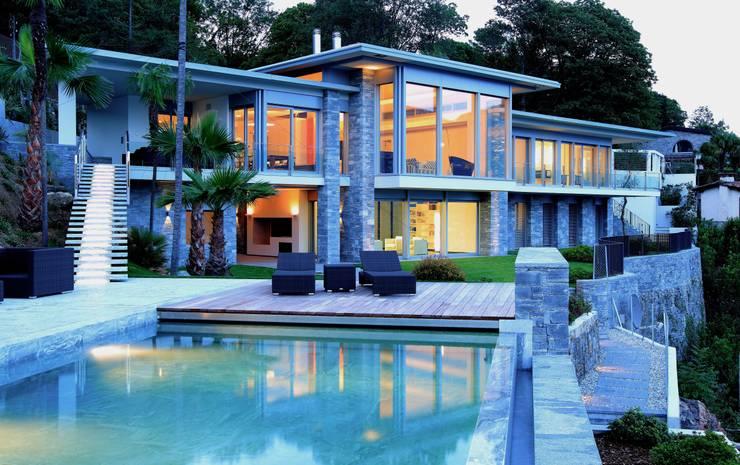 Terrasse von Aldo Rampazzi Studio di Architettura