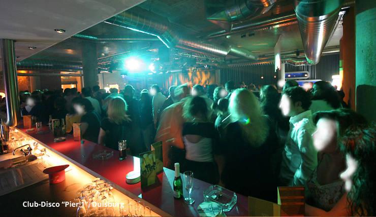 Innenarchitektur Disco Club Pier 1 Duisburg By Gid