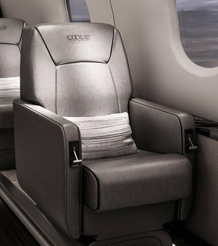 Aviation:  Yachts & jets by Celia Sawyer Luxury Interiors