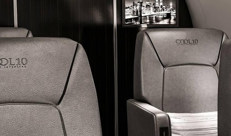 Yachts & Jets de style  par Celia Sawyer Luxury Interiors
