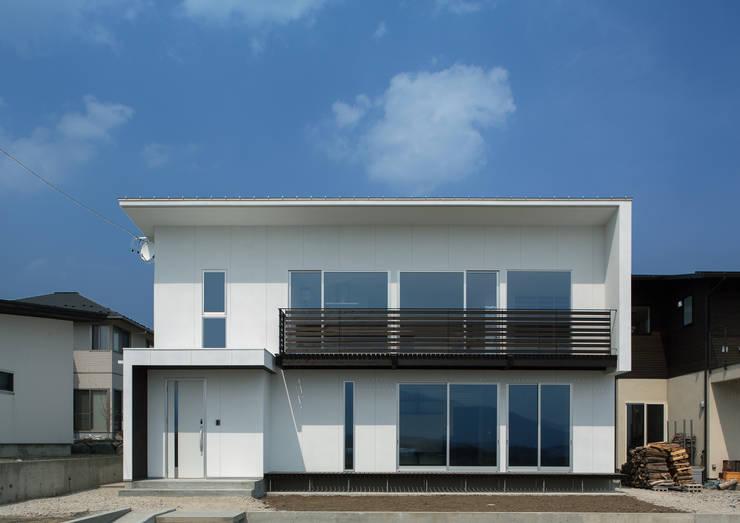 外観: 株式会社 mA建築計画工房が手掛けた家です。