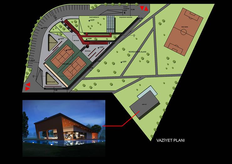 CO Mimarlık Dekorasyon İnşaat ve Dış Tic. Ltd. Şti. – Ankara Spor Kompleksi:  tarz