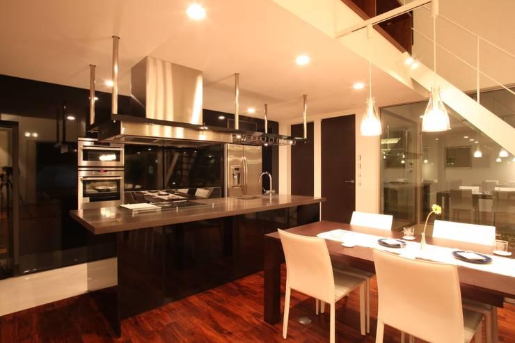 こだわりキッチン: TERAJIMA ARCHITECTSが手掛けたキッチンです。