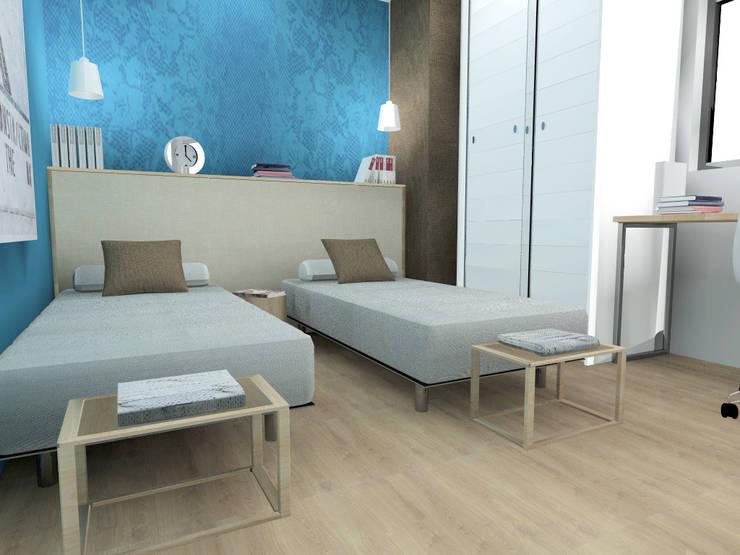 Dormitorio secundario: Dormitorios de estilo clásico de CARMAN INTERIORISMO