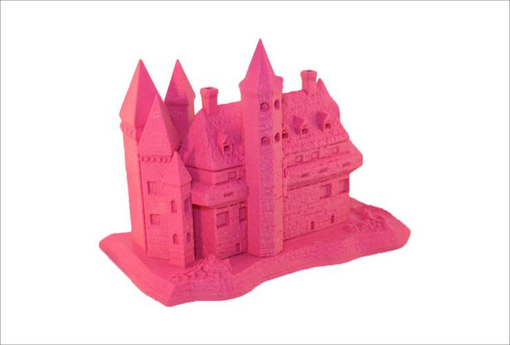 3D-printed castle: modern  door MyMatics, Modern