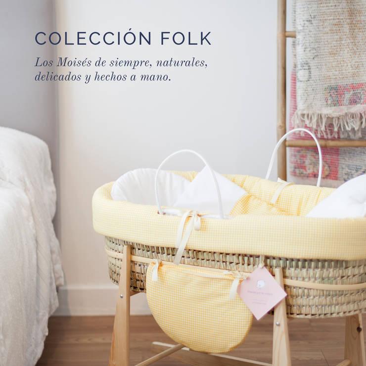 Coleccion FOLK: Habitaciones infantiles de estilo  de Cucosbaby