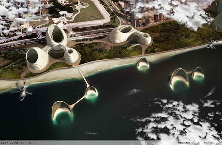 Organic Cities:  in stile  di Luca Curci Architects