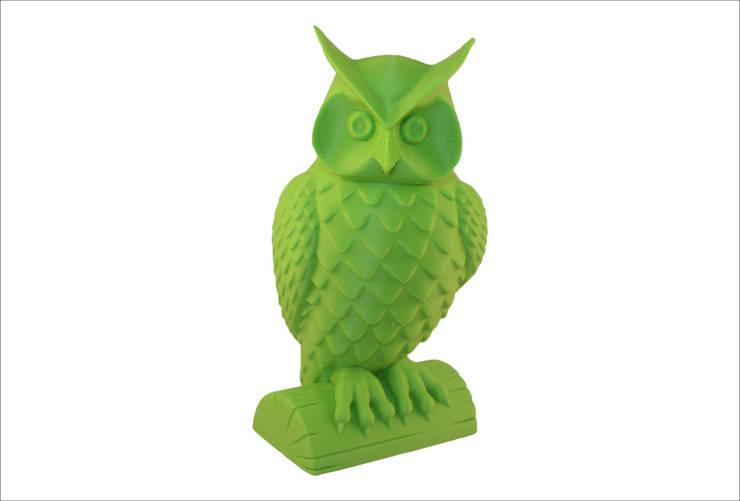 3D-print of a wise owl: modern  door MyMatics, Modern