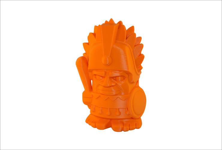 3D-print of an Aztec chief: modern  door MyMatics, Modern