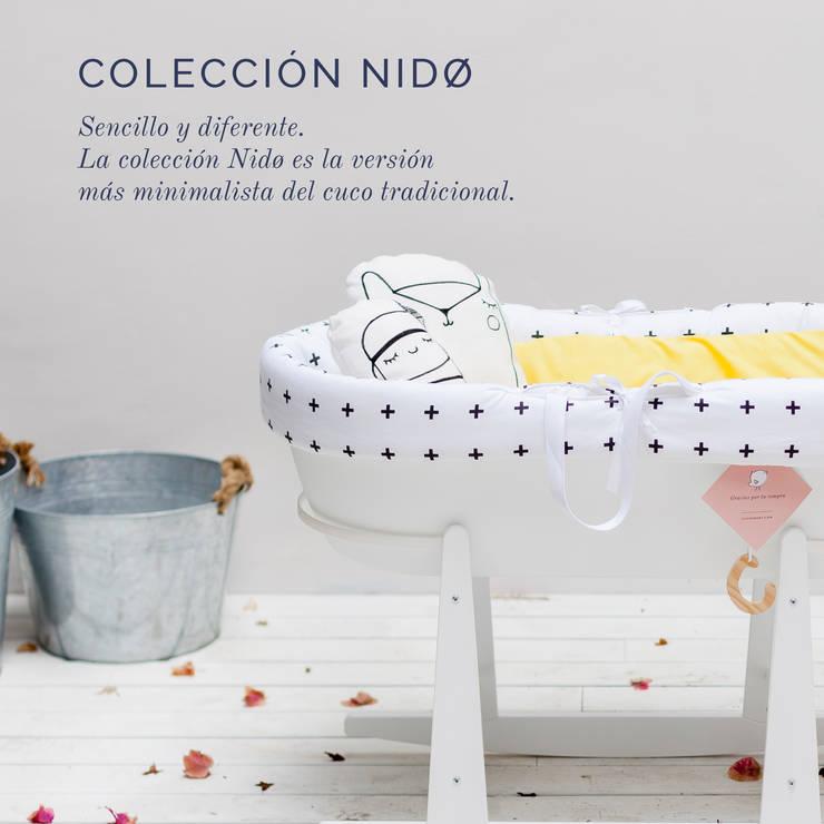 Coleccion NIDØ: Habitaciones infantiles de estilo  de Cucosbaby