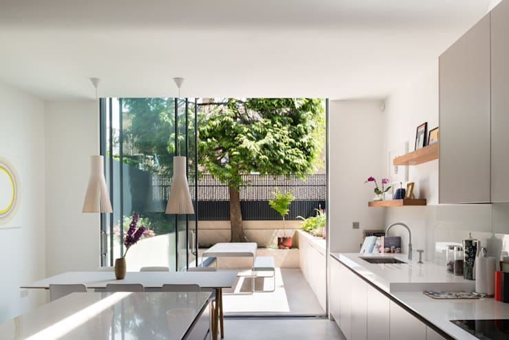 Interior:  Kitchen by Architecture for London