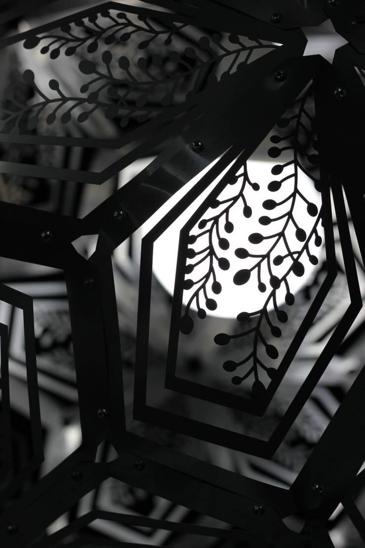 Floralibus: Soggiorno in stile  di Andrea Nani Design