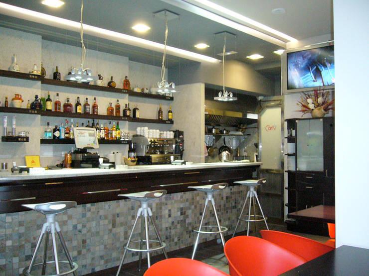 CAFETERÍA CARTY:  de estilo  de ARKO DECORADORES