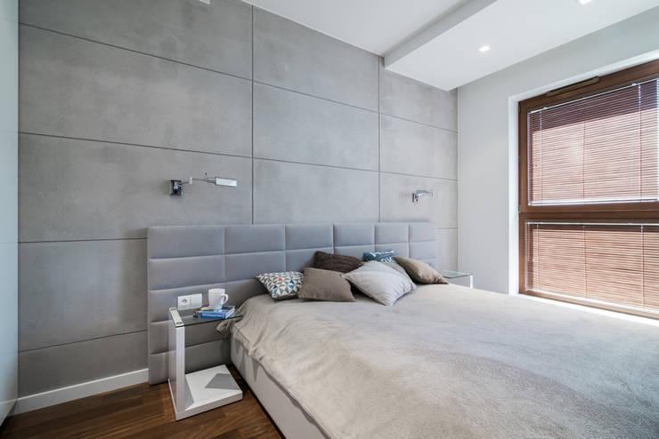 nowoczesne mieszkanie w Warszawie : styl , w kategorii Sypialnia zaprojektowany przez Art of home