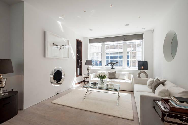 Belgravia Mews House:  Household by Landmass London