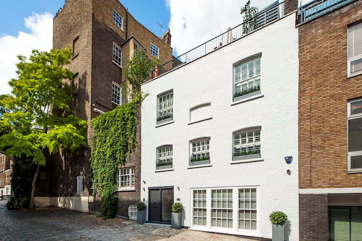 Belgravia Mews House:  Household by Landmass London