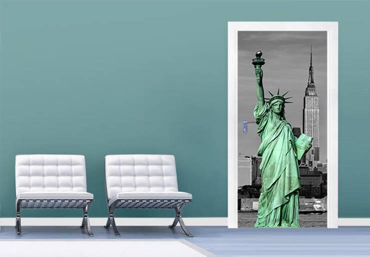 Türdesign Statue of Liberty :   von K&L Wall Art,Ausgefallen