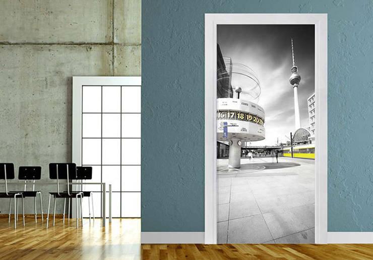 Türdesign Berlin Alexanderplatz :   von K&L Wall Art,Ausgefallen