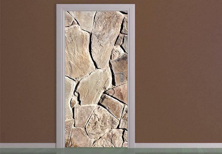 Türdesign Mediterrane Mauer :   von K&L Wall Art,Mediterran