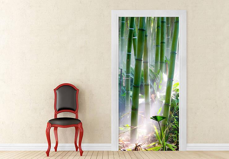 Türdesign Bambus Wald :   von K&L Wall Art,Asiatisch