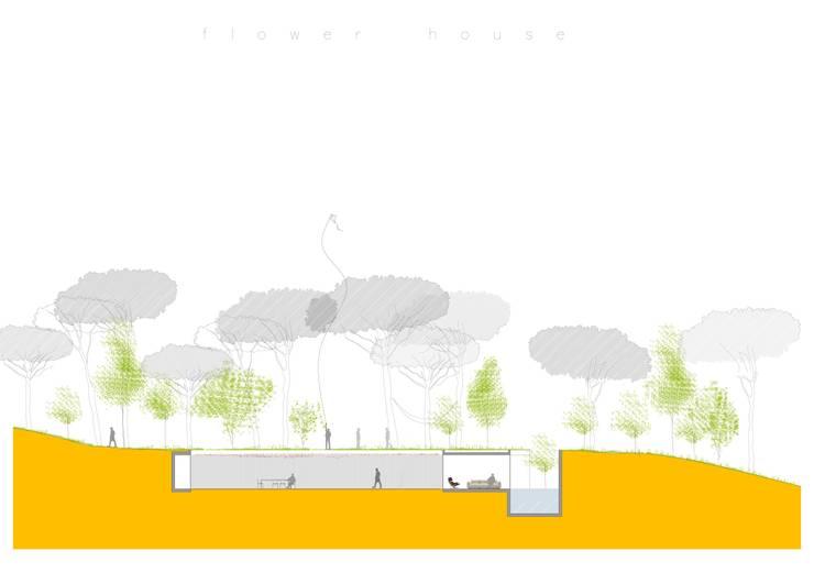 flower house:   by paul kaloustian architect