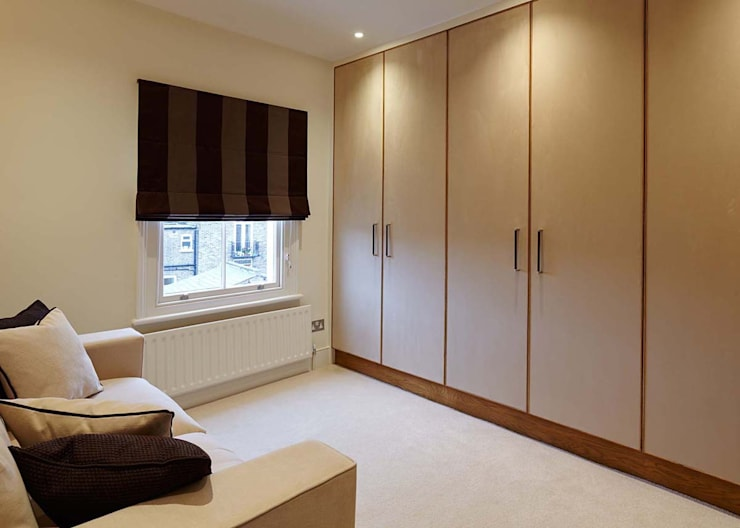 Master Suite Design, Parson's Green, London Modern home by Residence Interior Design Ltd Modern