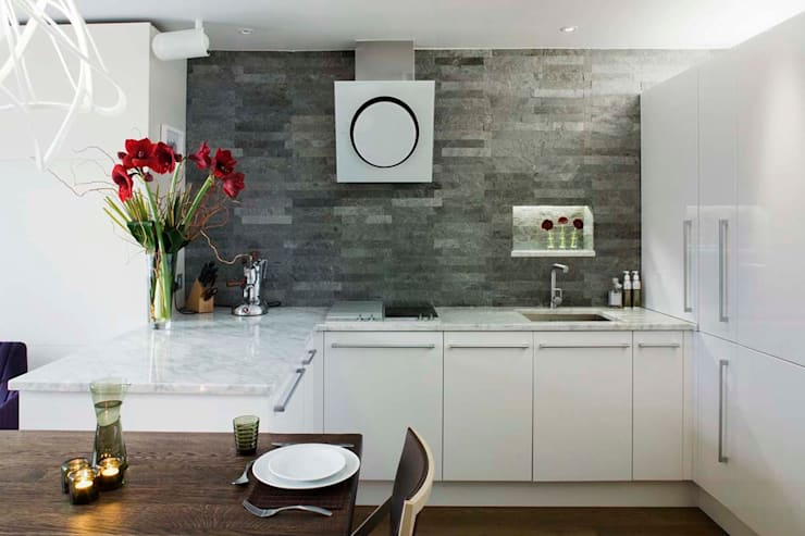Parliament View Interior Design, Lambeth Bridge, London:  Houses by Residence Interior Design Ltd