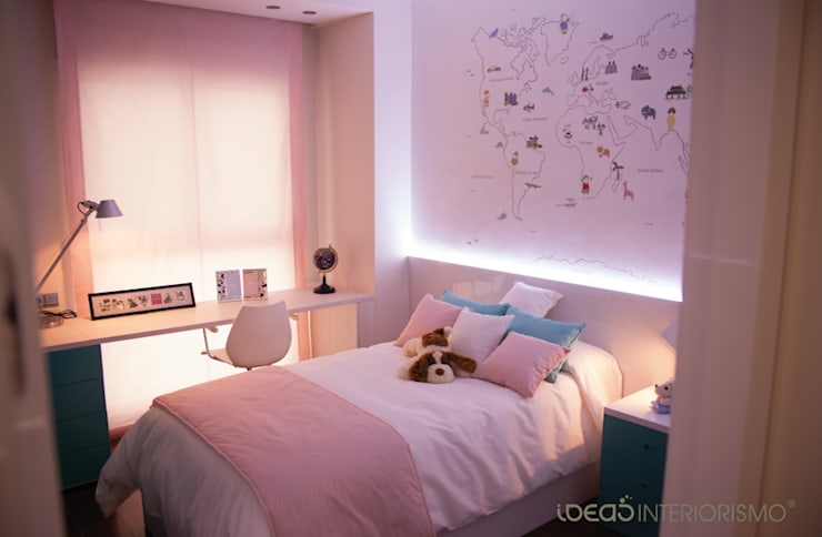 Nursery/kid's room by Ideas Interiorismo Exclusivo, SLU