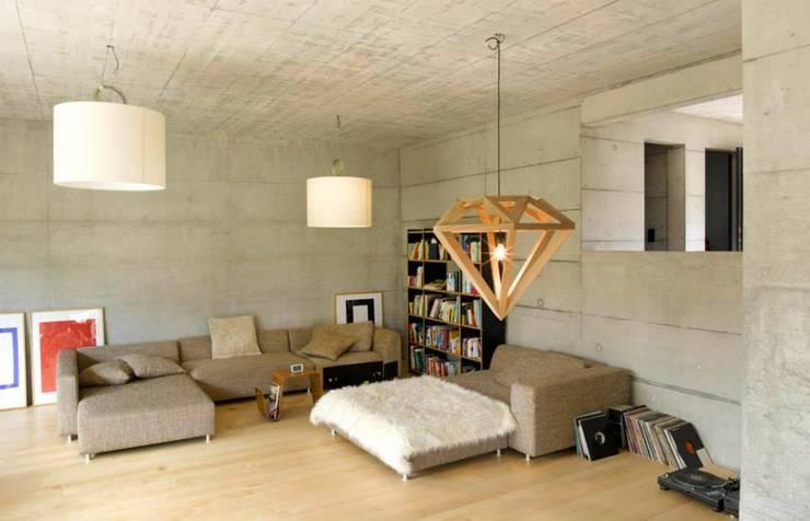 Projekty,  Salon zaprojektowane przez Marty Häuser AG