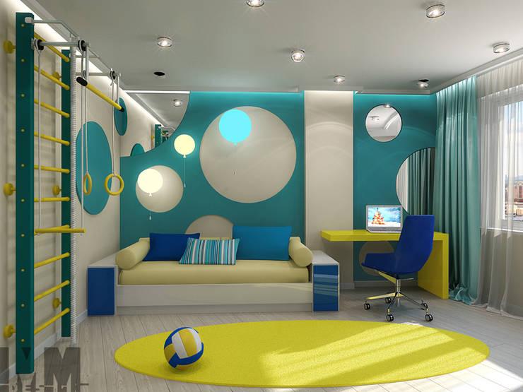 Уют минимализма: Детские комнаты в . Автор – ММ-design