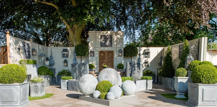 rustieke & brocante Tuin door A Place In The Garden Ltd.