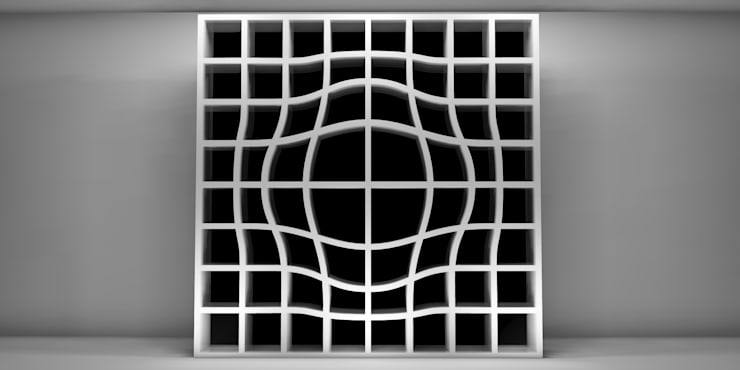 optical: Soggiorno in stile  di Officina Del Design