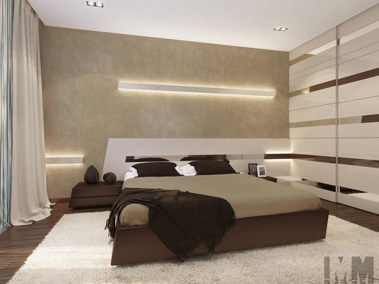 Динамика параллелограмма: Спальни в . Автор – ММ-design