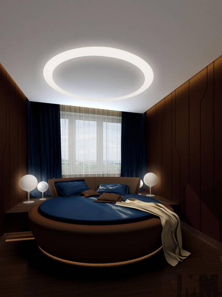 В круге света: Спальни в . Автор – ММ-design, Минимализм