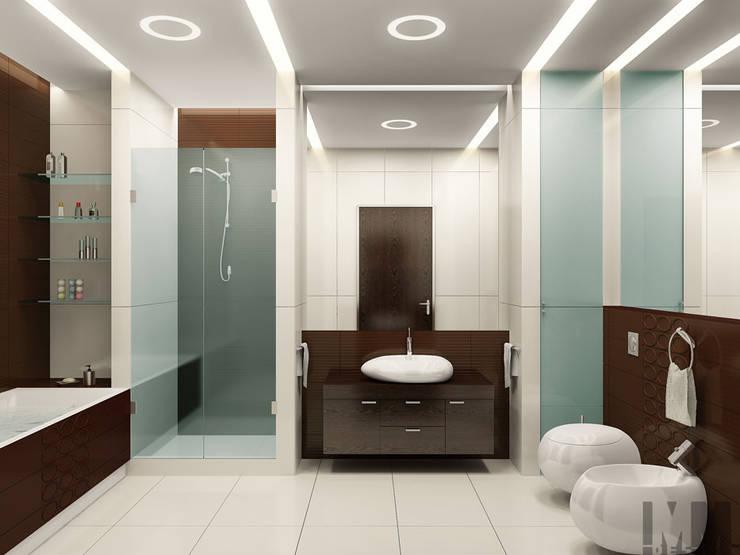 В круге света: Ванные комнаты в . Автор – ММ-design, Минимализм