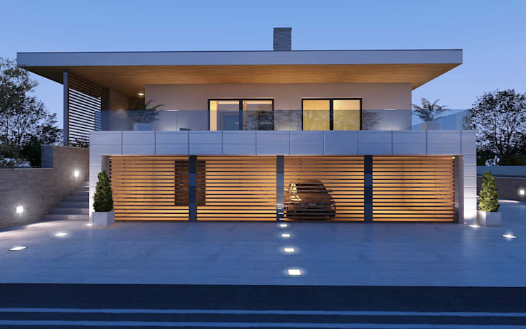 Villa AP: Casa in stile  di Antonio Paglia Design