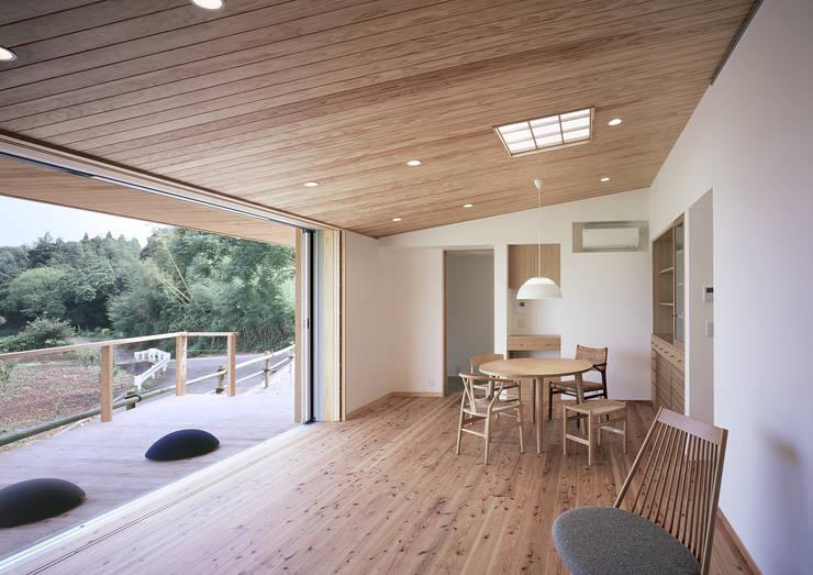 Phòng khách theo ㈱ライフ建築設計事務所, Hiện đại