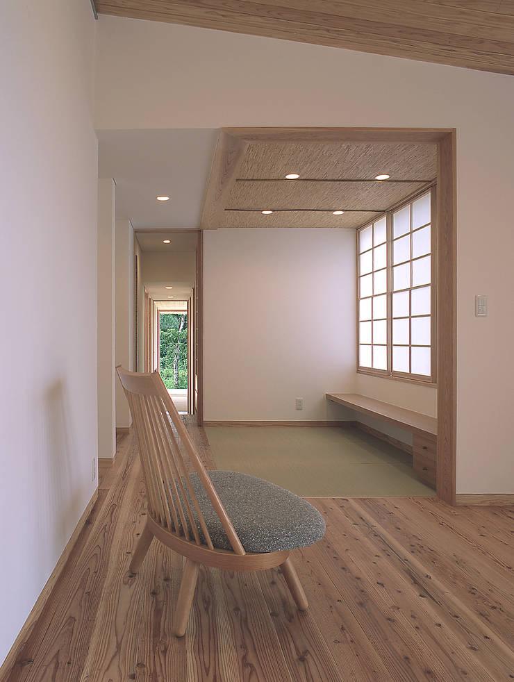Media room by ㈱ライフ建築設計事務所, Modern