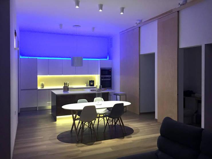 moderne Küche von Ivan Torres Architects