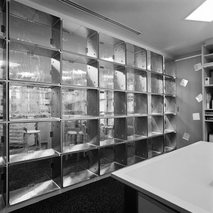 事務室からエントランスホール: Yoshiharu Shimazaki Architect Studio,INCが手掛けた美術館・博物館です。
