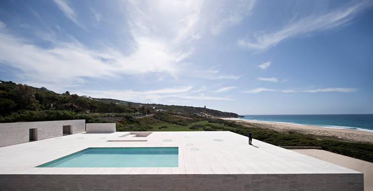 moderner Pool von Alberto Campo Baeza